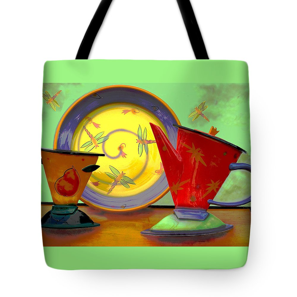 Dragonflys Tote Bag featuring the photograph Still Life One by Jeff Burgess