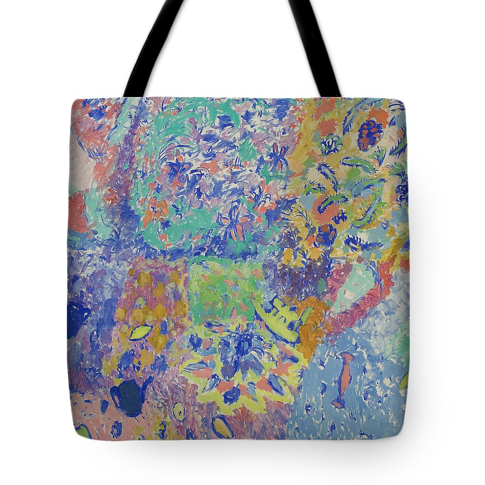 Boat Tote Bag featuring the painting Still Life by Robert Nizamov