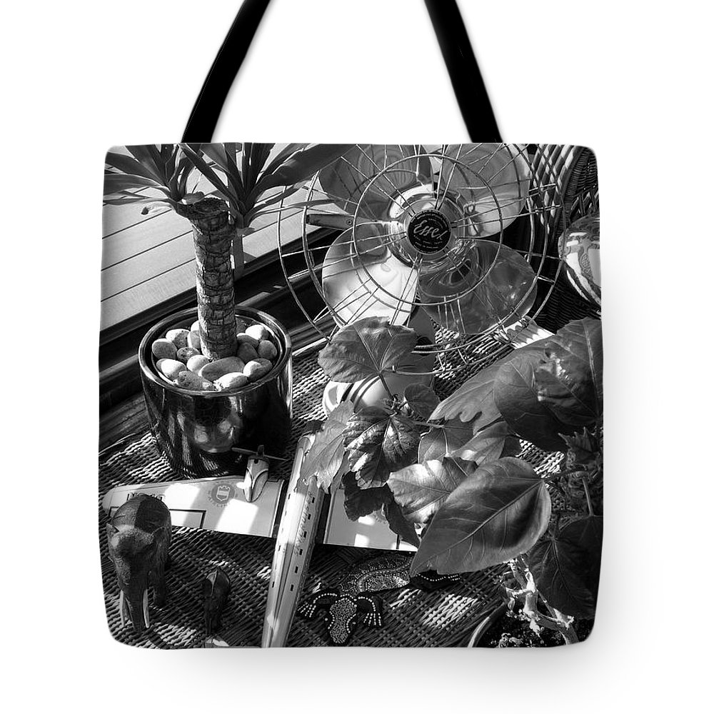 Still Life Tote Bag featuring the photograph Still Life With Salamander by Charles Stuart