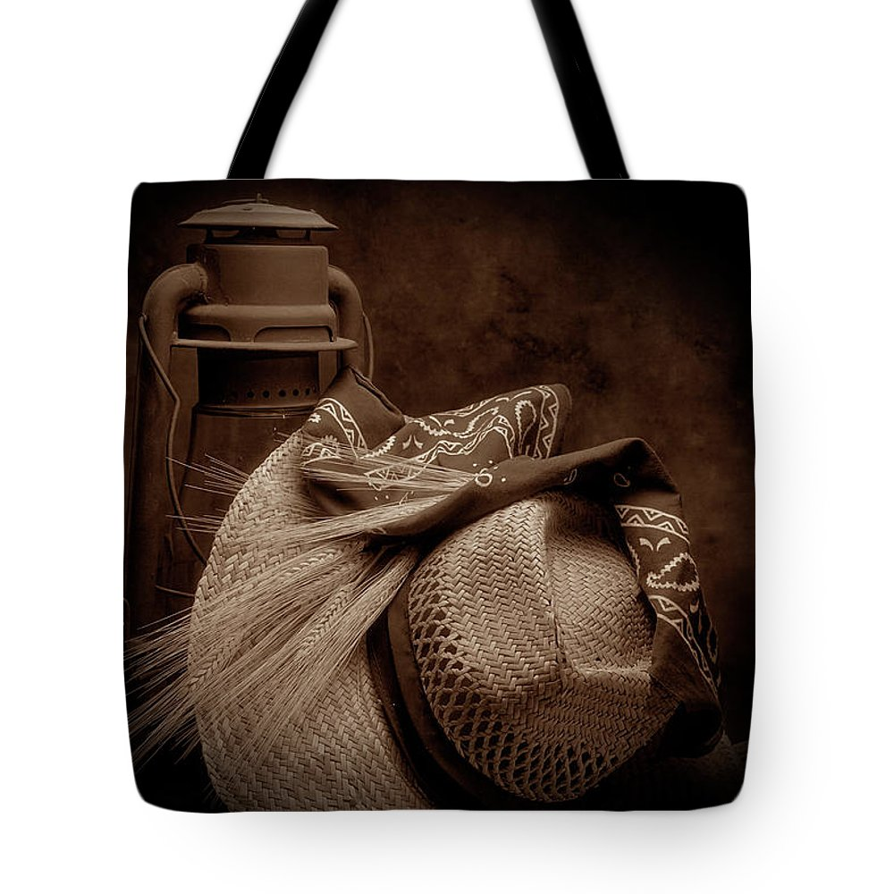 Wheat Tote Bag featuring the photograph Still Life With Wheat II by Tom Mc Nemar