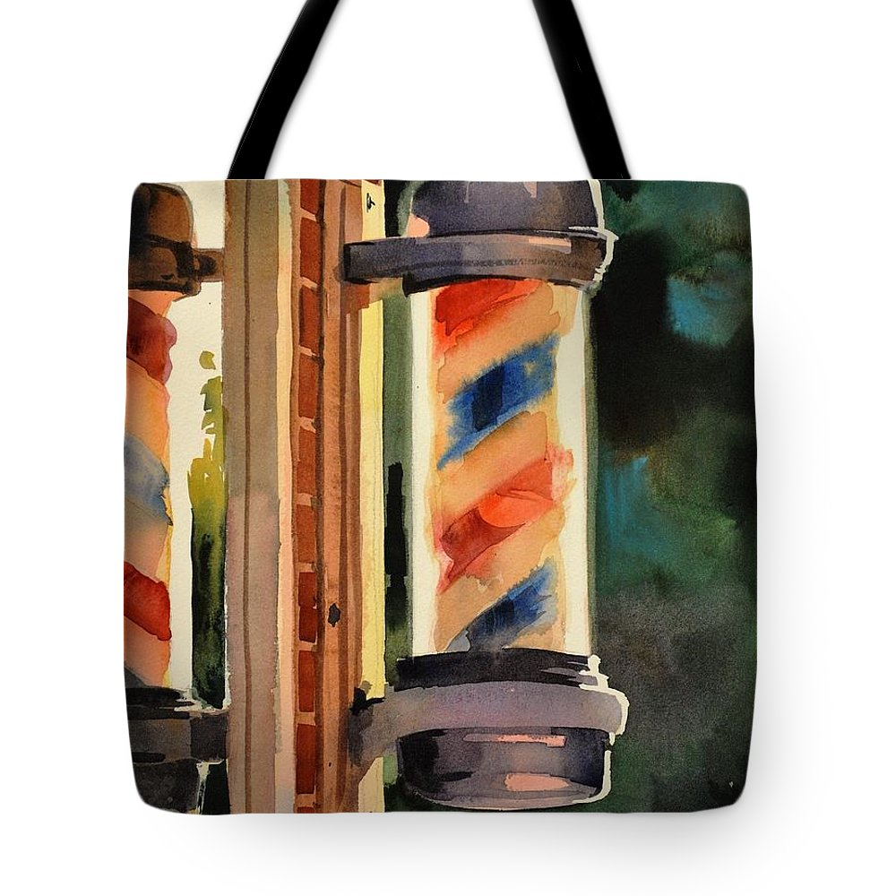 Spencer Shops Paintings Tote Bags