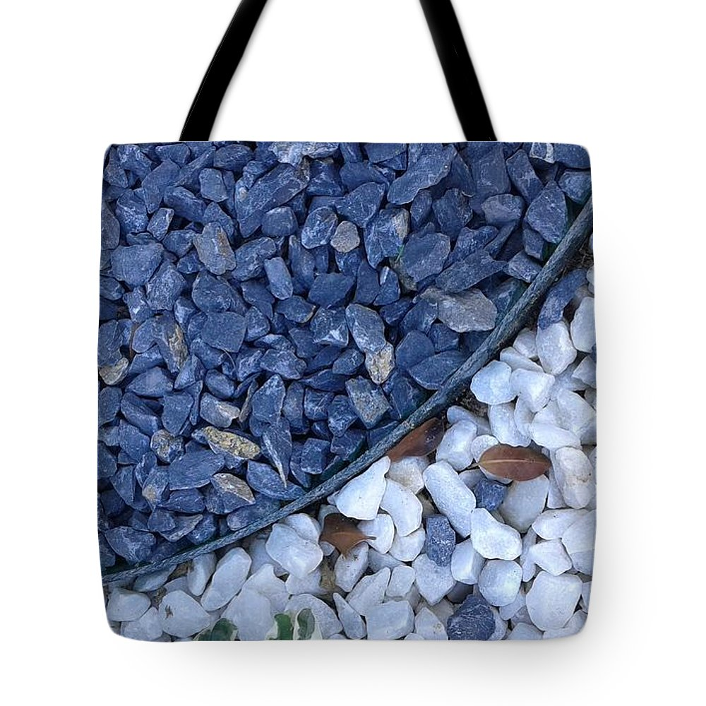 Natural Beautiful Art Of Nature Tote Bag featuring the photograph Stones by Maha Ahmed