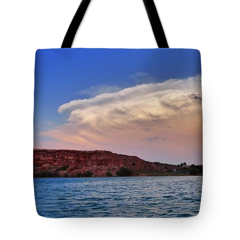Skip Hunt Tote Bag featuring the photograph Storm Brew by Skip Hunt