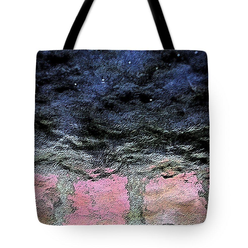Abstract Tote Bag featuring the photograph Storm by Carl Ellis
