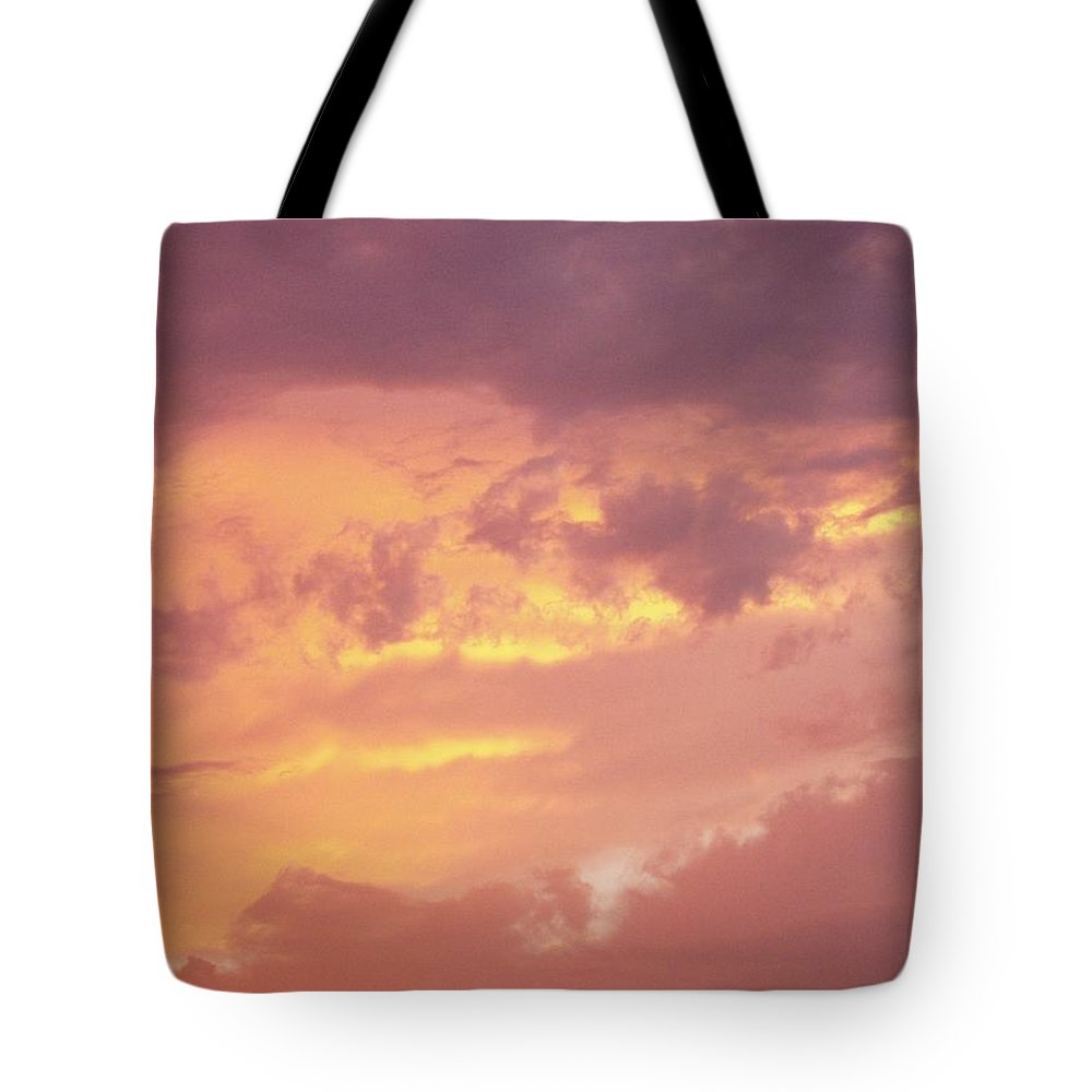 Clouds Tote Bag featuring the photograph Storm Clouds by Deborah Crew-Johnson