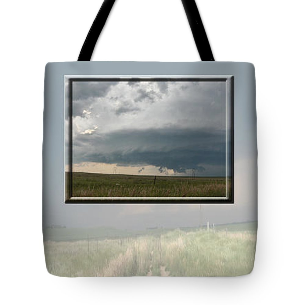 Tornado Strom Weather Rain Thunder Clouds Wind Tote Bag featuring the photograph Storm Collection by Andrea Lawrence