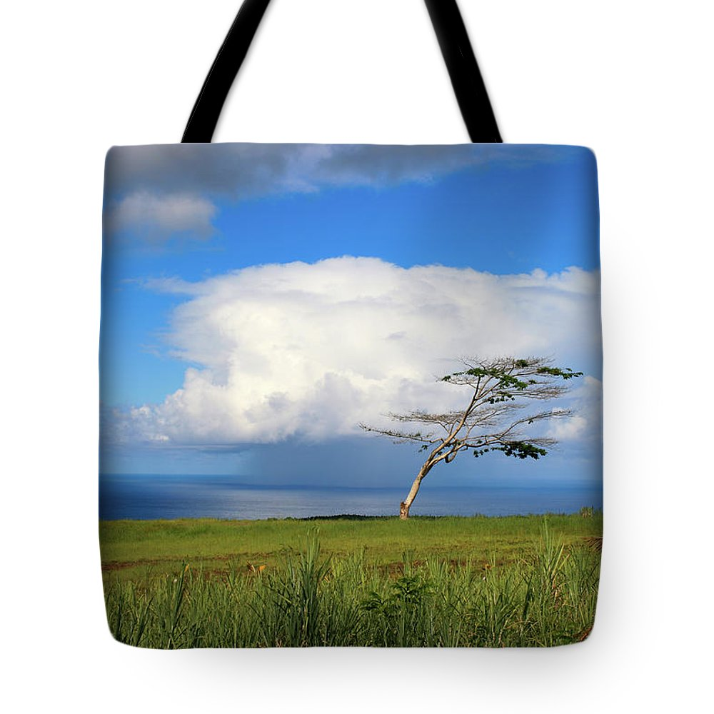 Hawaii Tote Bag featuring the photograph Storm In Paradise by Matt Sexton