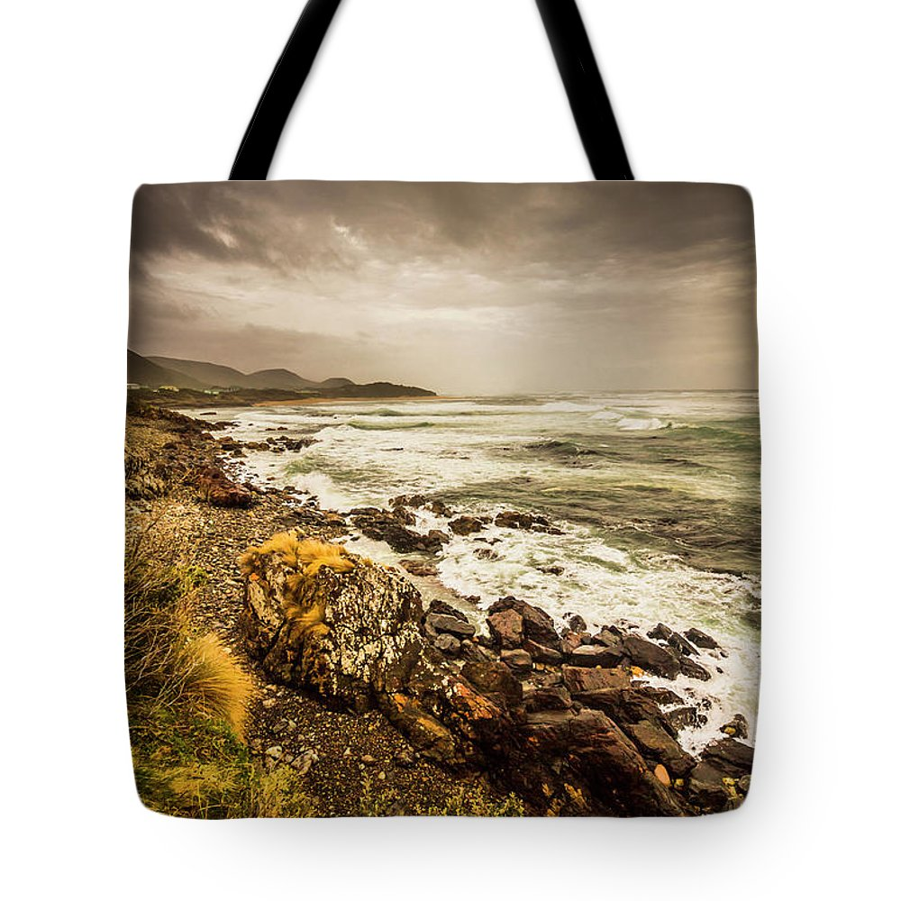 Overcast Tote Bag featuring the photograph Storm Season by Jorgo Photography - Wall Art Gallery