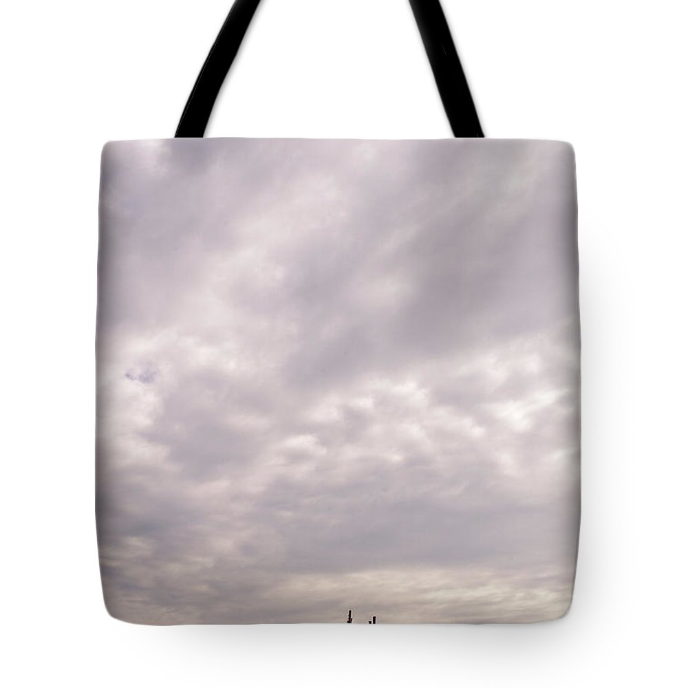 Clouds Tote Bag featuring the photograph Storm Shack by Scott Sawyer