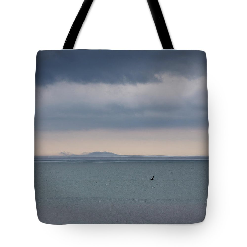 Clouds Tote Bag featuring the photograph Storm Warning by James Guilford