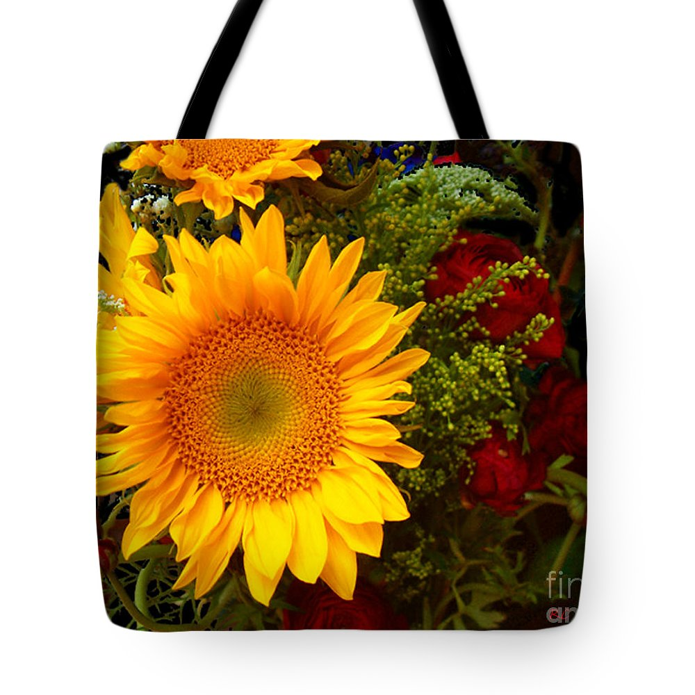 Sunflower Tote Bag featuring the photograph Straight No Chaser by RC DeWinter