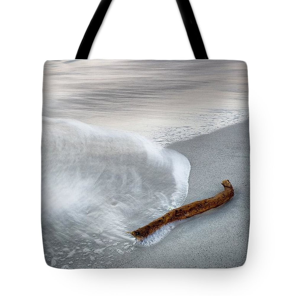 Dusk Tote Bag featuring the photograph Stranded by Kym Clarke