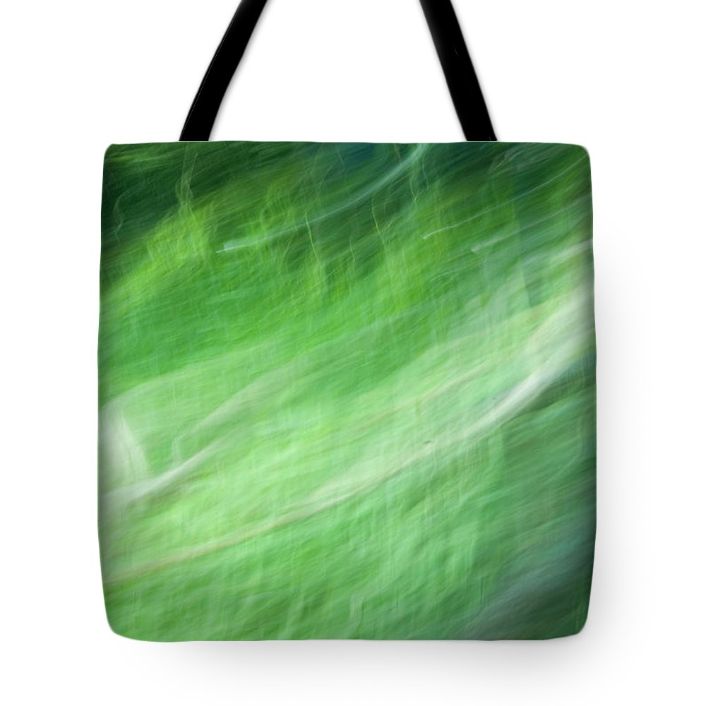 Streaming Tote Bag featuring the photograph Streaming Life by Douglas Barnett