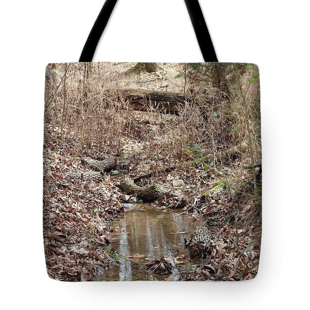 Streams Tote Bag featuring the photograph Streams by Robert Smith