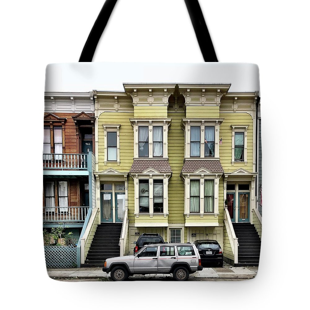 Tote Bag featuring the photograph Streets Of San Francisco by Julie Gebhardt