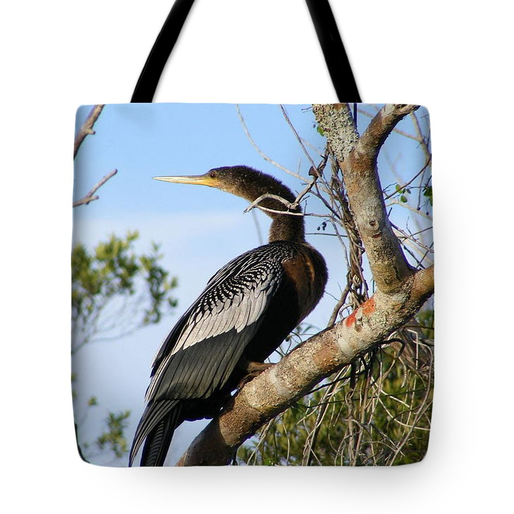 Bird Tote Bag featuring the photograph Strike A Pose by Ed Smith