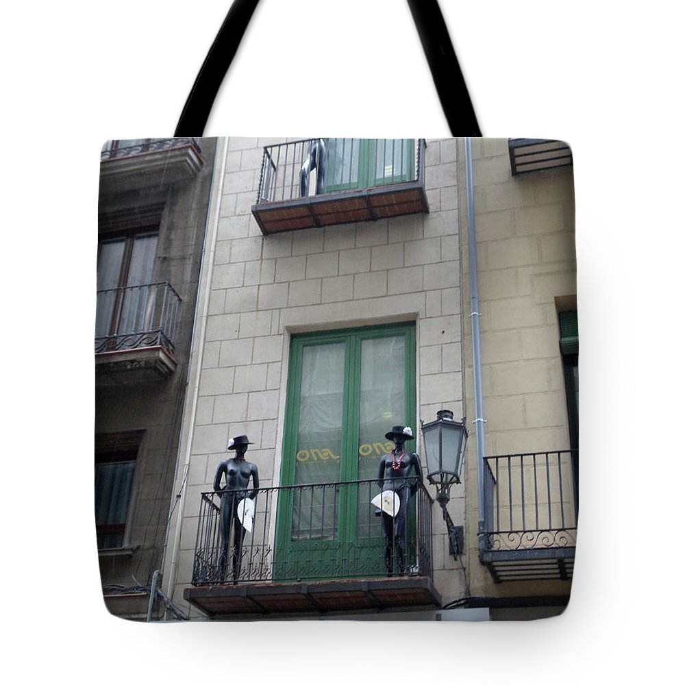 Mannequins Tote Bag featuring the photograph Strike A Pose by Marwan George Khoury