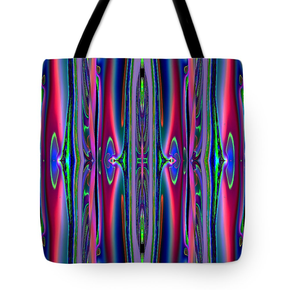 Abstract Tote Bag featuring the photograph Stripes  3 by Alfred Kazaniwskyj