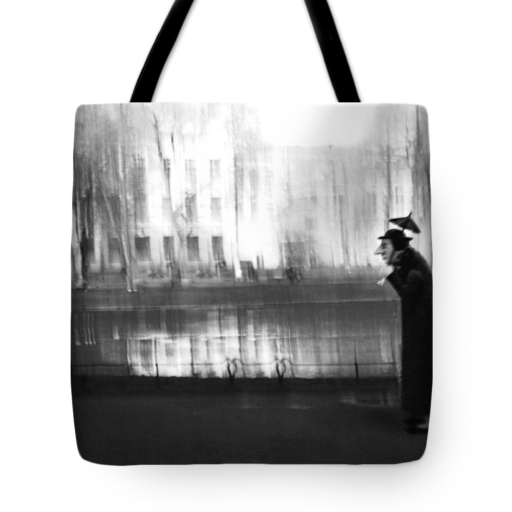 Dolls Tote Bag featuring the photograph Stroll Under The Umbrella by larisa Fedotova