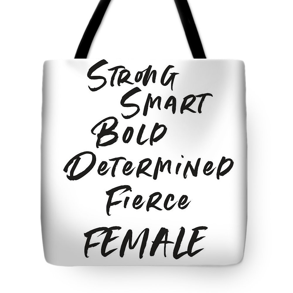 Determined Tote Bags