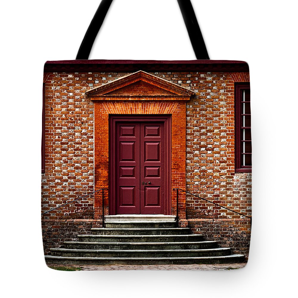 Secretary Tote Bag featuring the photograph Structural Symetry by Christopher Holmes