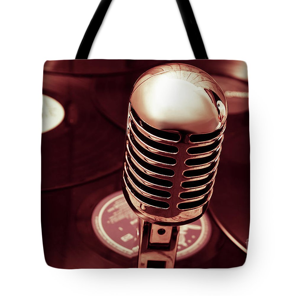 Mic Tote Bag featuring the photograph Studio Of Old by Jorgo Photography - Wall Art Gallery