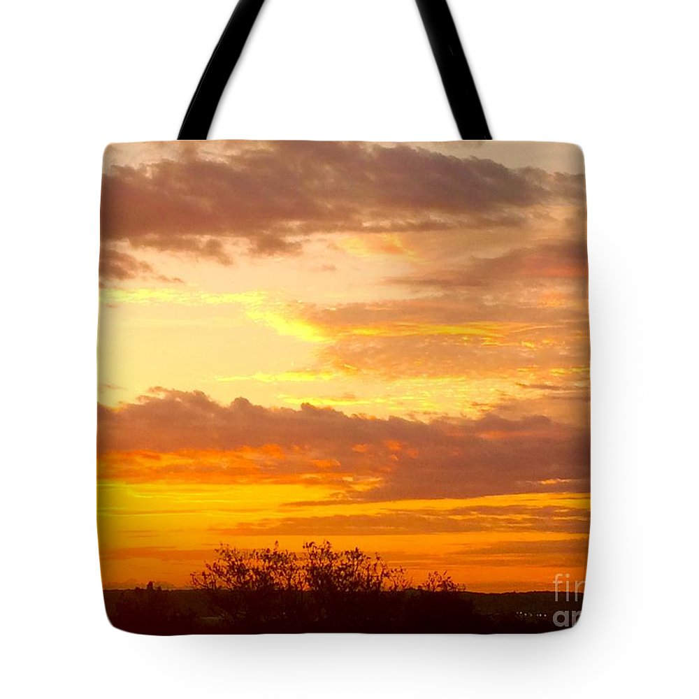 Sunrise Tote Bag featuring the photograph Sublime Sunrise by Richard Russey
