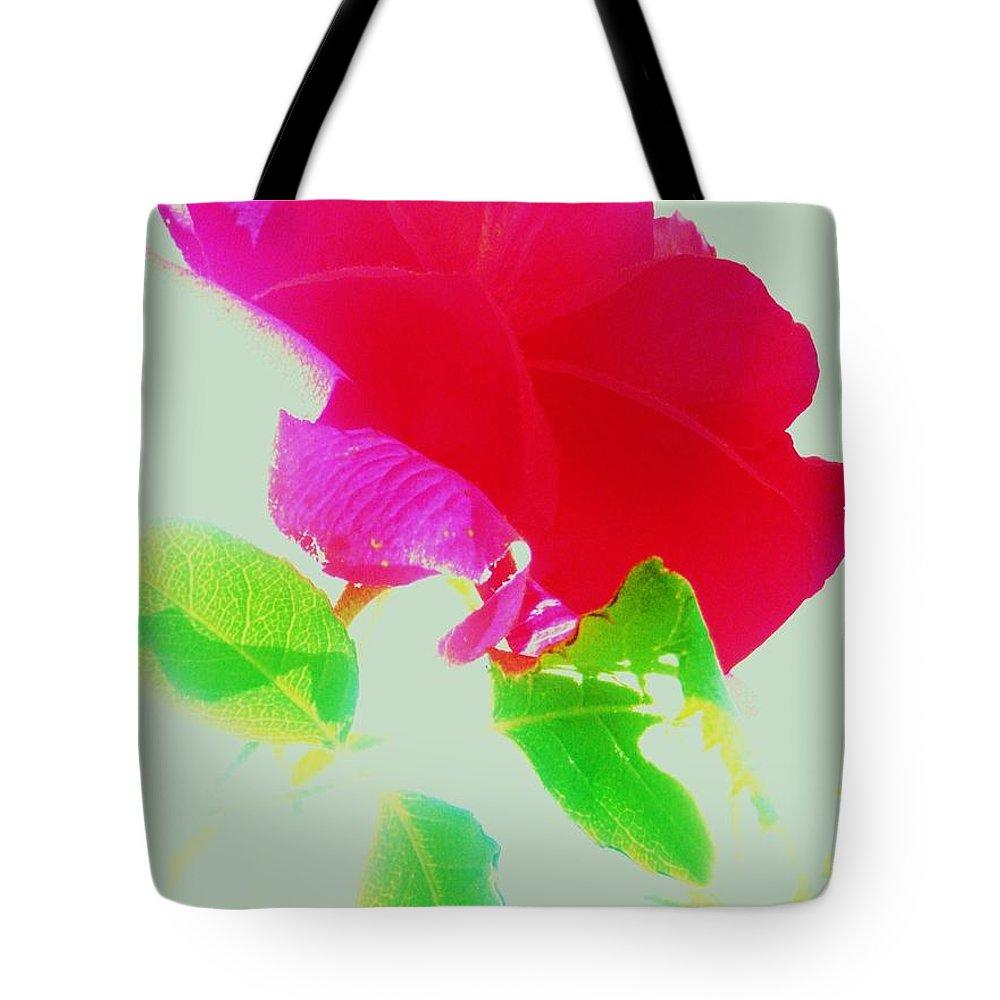 Rose Tote Bag featuring the photograph Subtle Rose by Daniele Smith