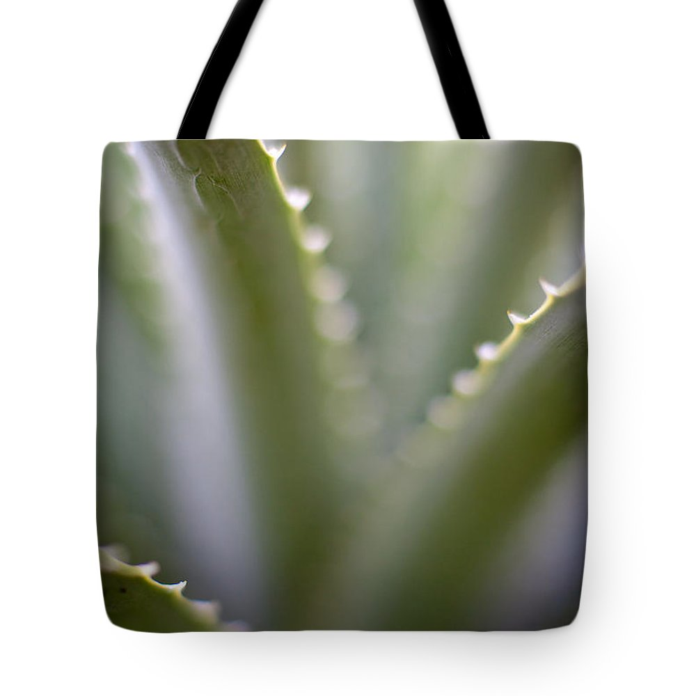 Succulent Tote Bag featuring the photograph Succulent Mystere by Mike Reid