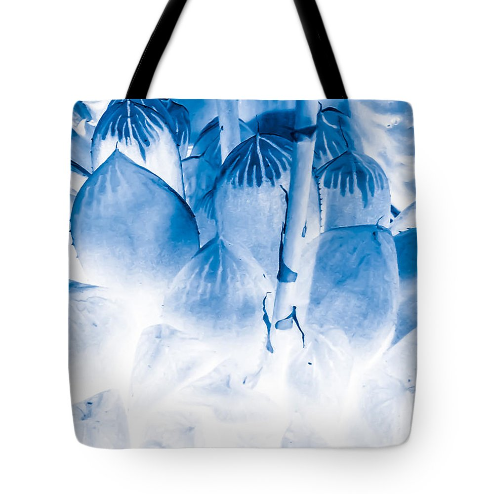 Succulent Tote Bag featuring the photograph Succulents In Bleu by Heather Joyce Morrill