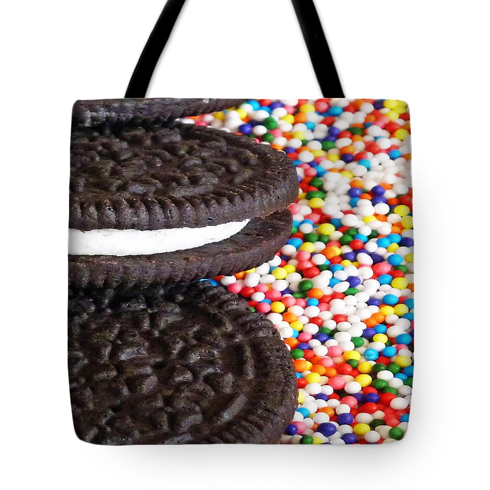 Sugar Rush Tote Bag featuring the photograph Sugar Rush by Methune Hively