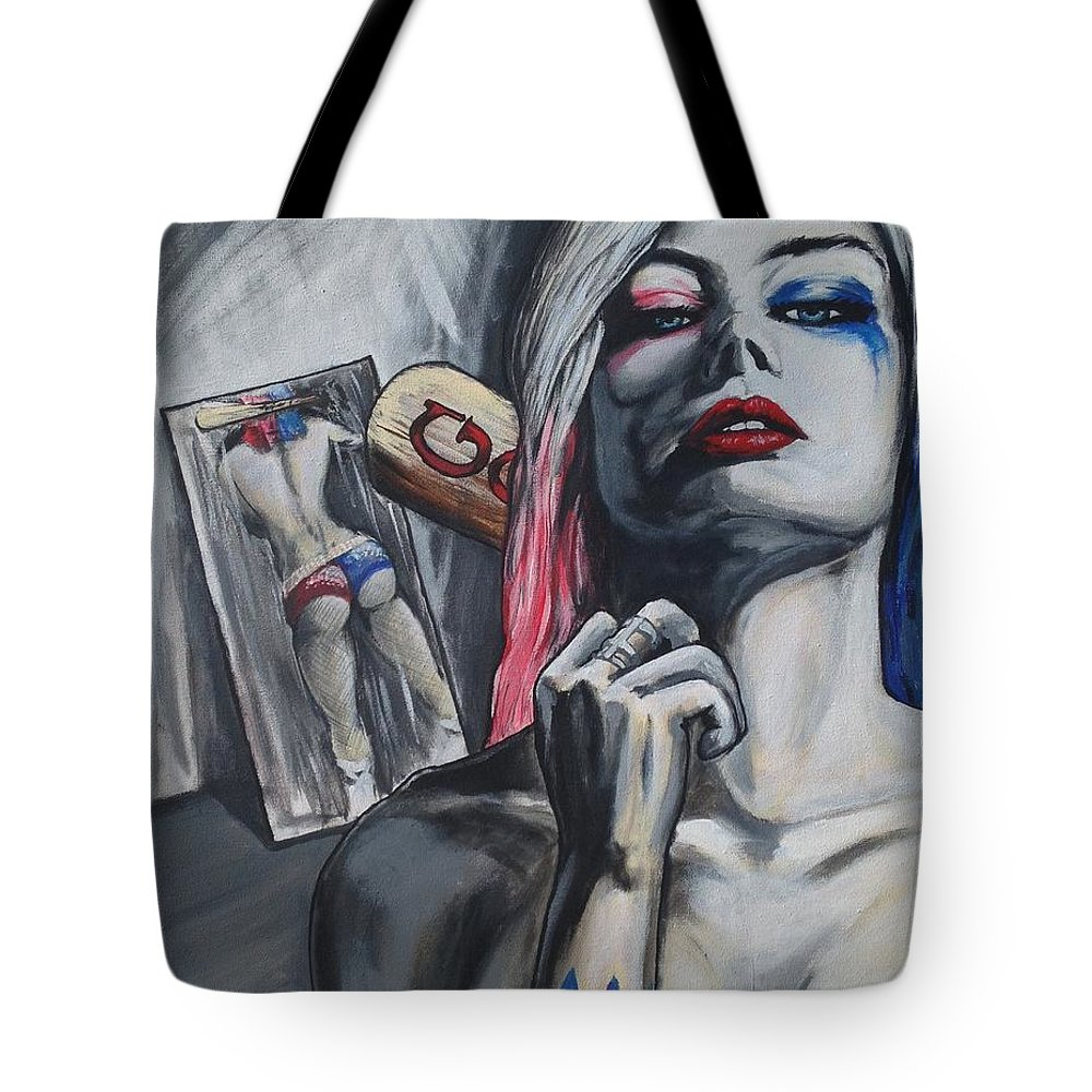 Suicide Squad Harley Quinn tote