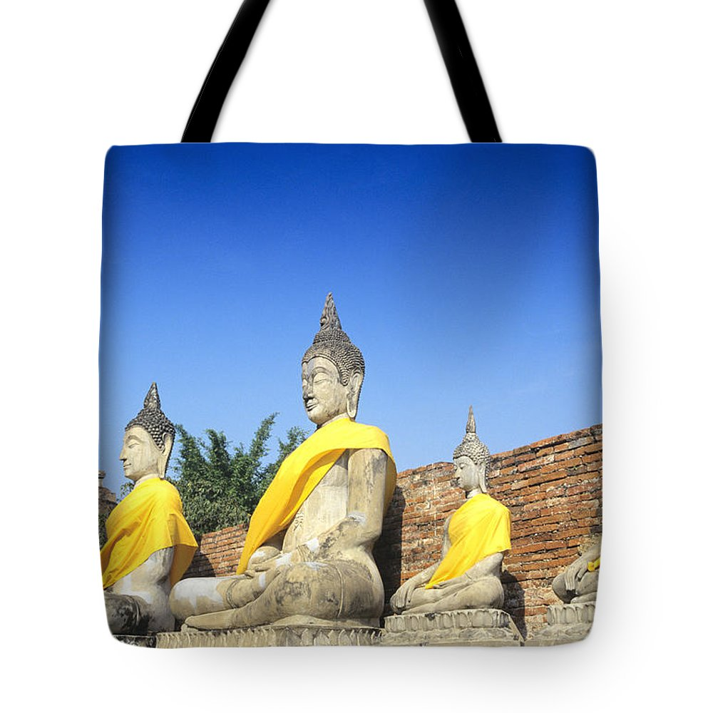 Ancient Tote Bag featuring the photograph Sukhothai Historical Park by Gloria & Richard Maschmeyer - Printscapes