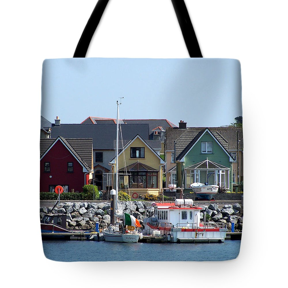 Irish Tote Bag featuring the photograph Summer Cottages Dingle Ireland by Teresa Mucha