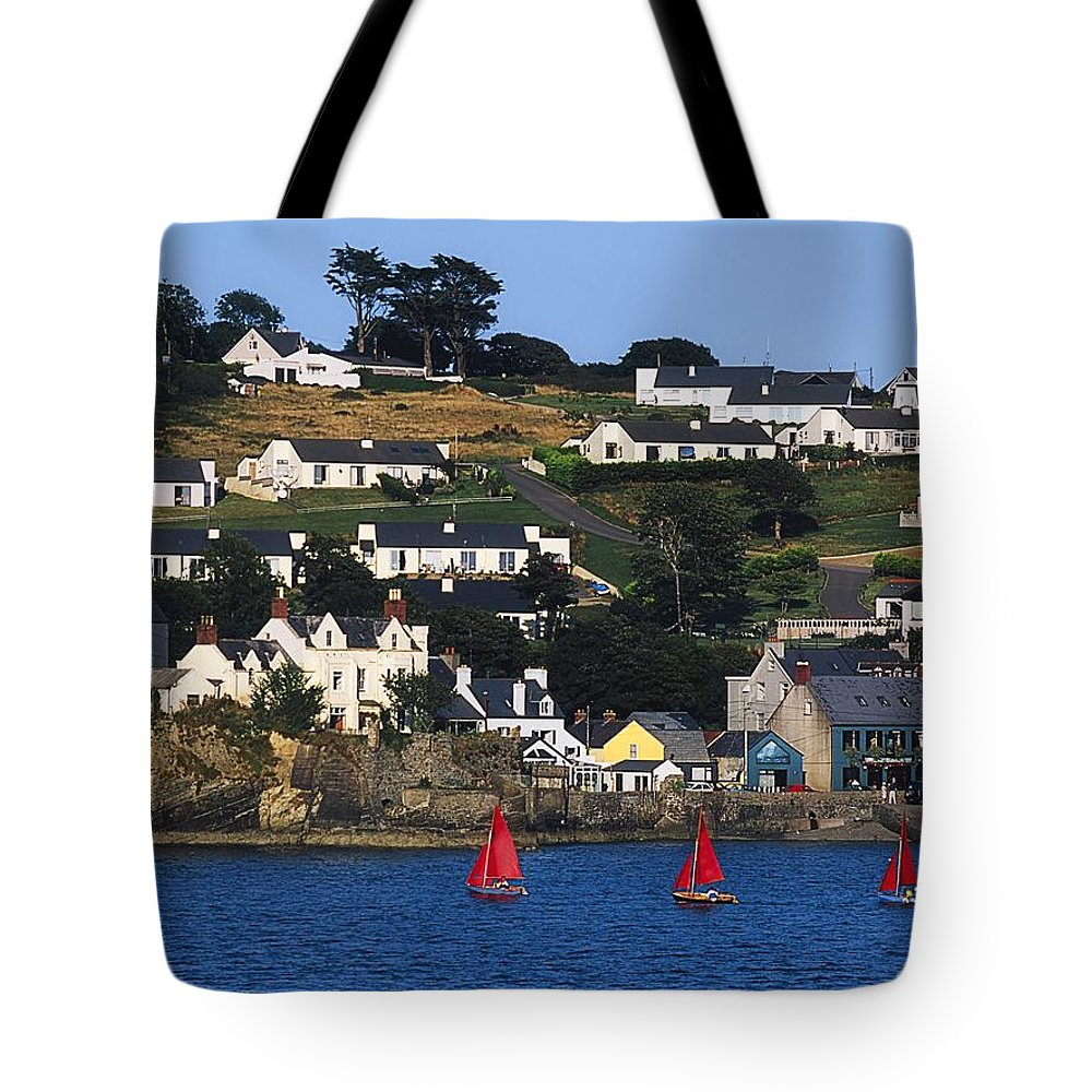 Building Tote Bag featuring the photograph Summer Cove, Kinsale, Co Cork, Ireland by The Irish Image Collection