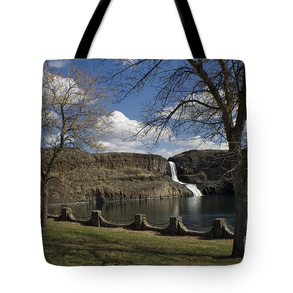Summer Tote Bag featuring the photograph Summer Falls by Idaho Scenic Images Linda Lantzy
