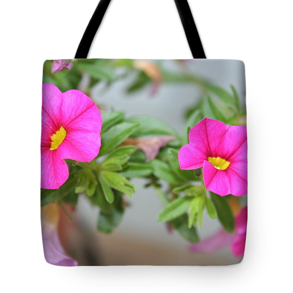 Flowers Tote Bag featuring the photograph Summer Flowers by Linda Sannuti