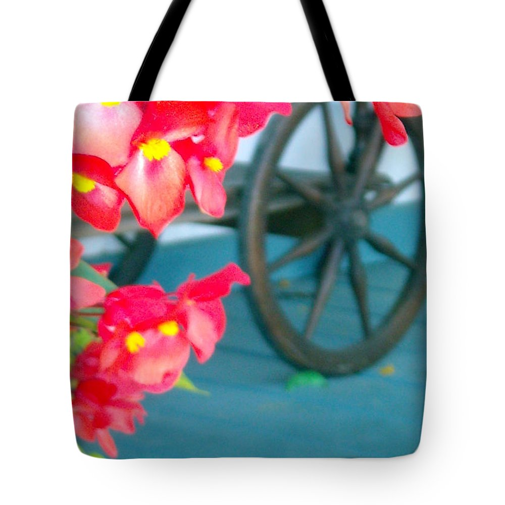 Flowers Tote Bag featuring the photograph Summer Flowers by Line Gagne