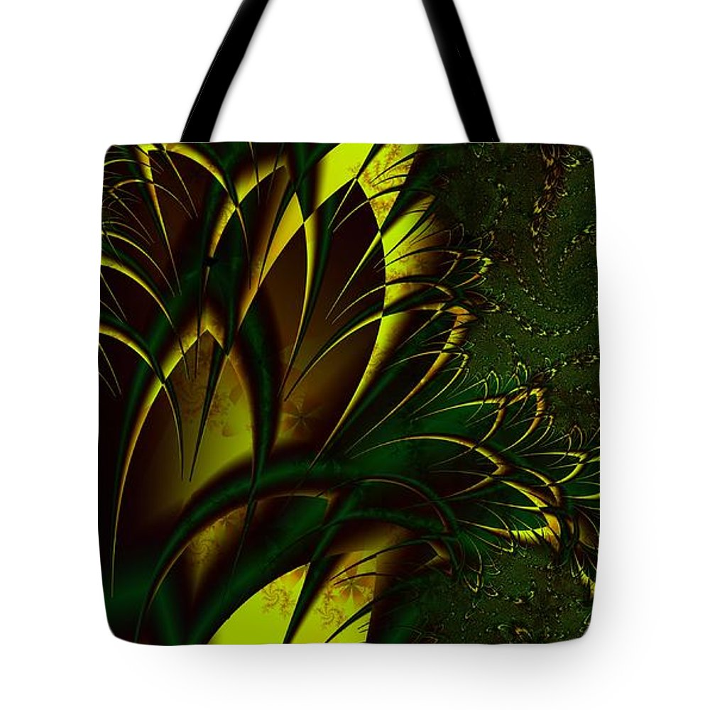 Digital Art Tote Bag featuring the digital art Summer Frenzy by Amanda Moore