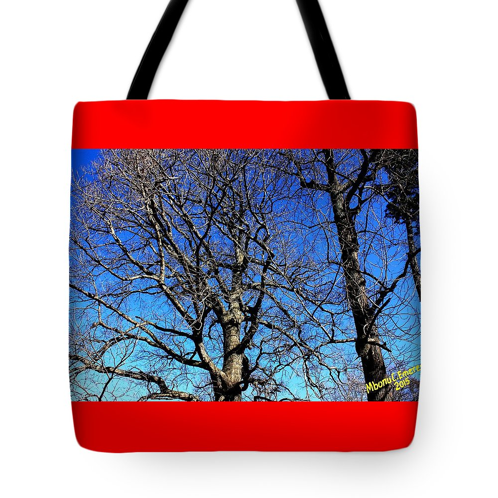 Summer In United States Tote Bag featuring the digital art Summer In United States by Mbonu Emerem