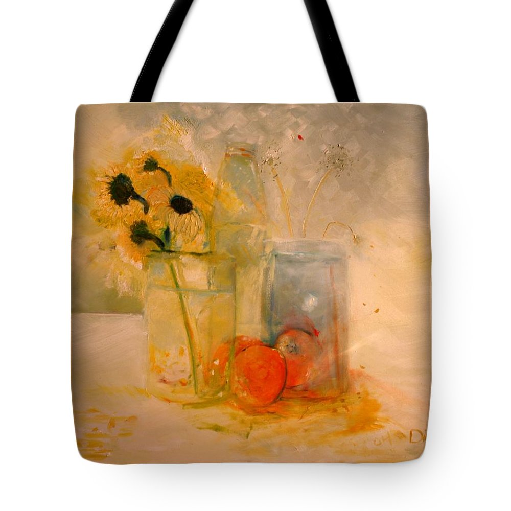 Daisey Tote Bag featuring the painting Summer Light by Jack Diamond