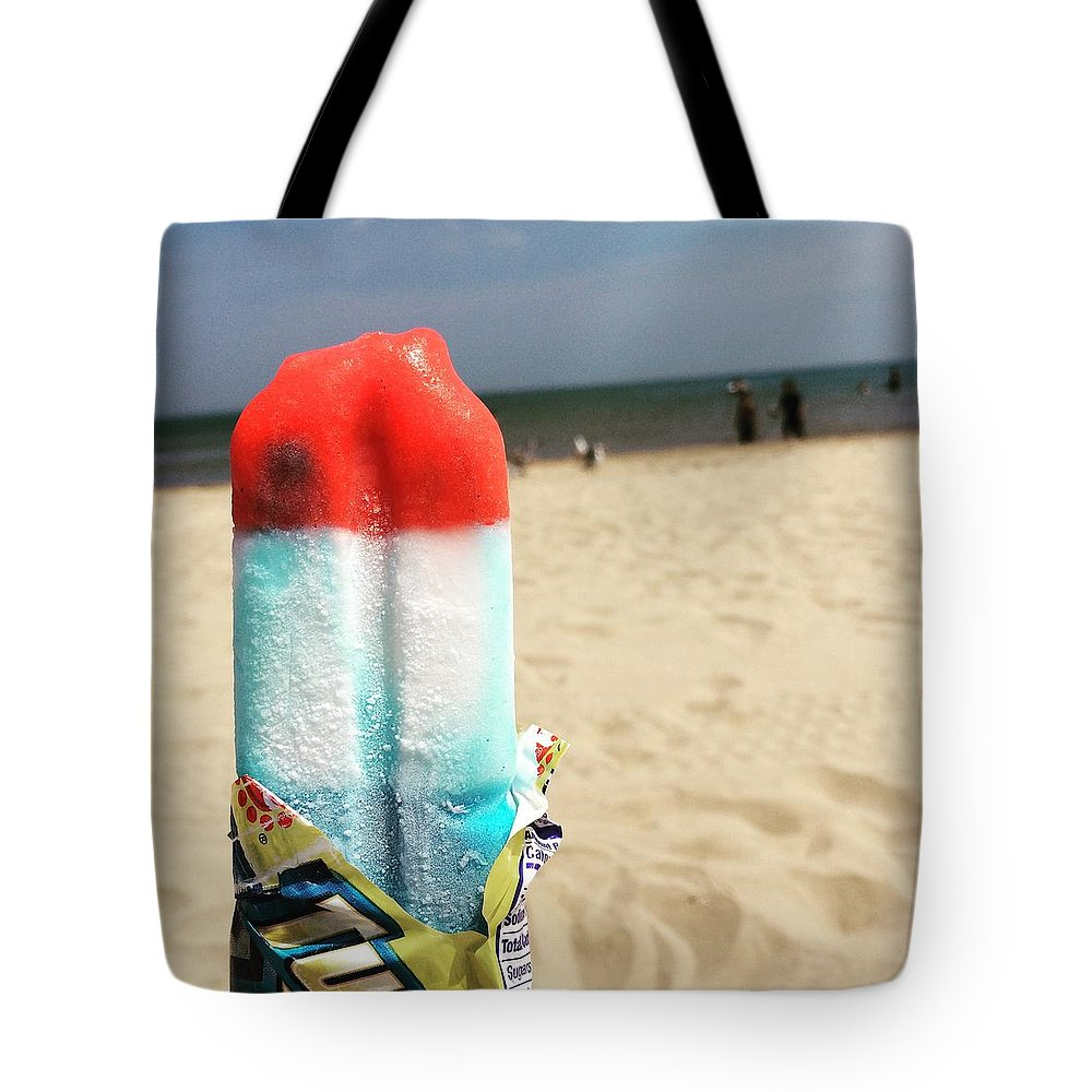 Popsicle Tote Bag featuring the photograph Summer Lovin by Margaret Fronimos