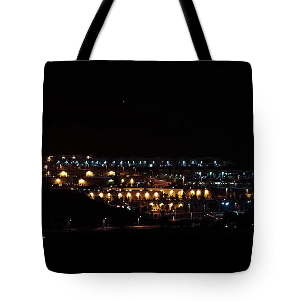 Clay Tote Bag featuring the photograph Summer Nights by Clayton Bruster
