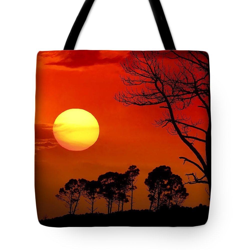 Fort Walton Beach Tote Bag featuring the photograph Summer Nights by Janet Fikar