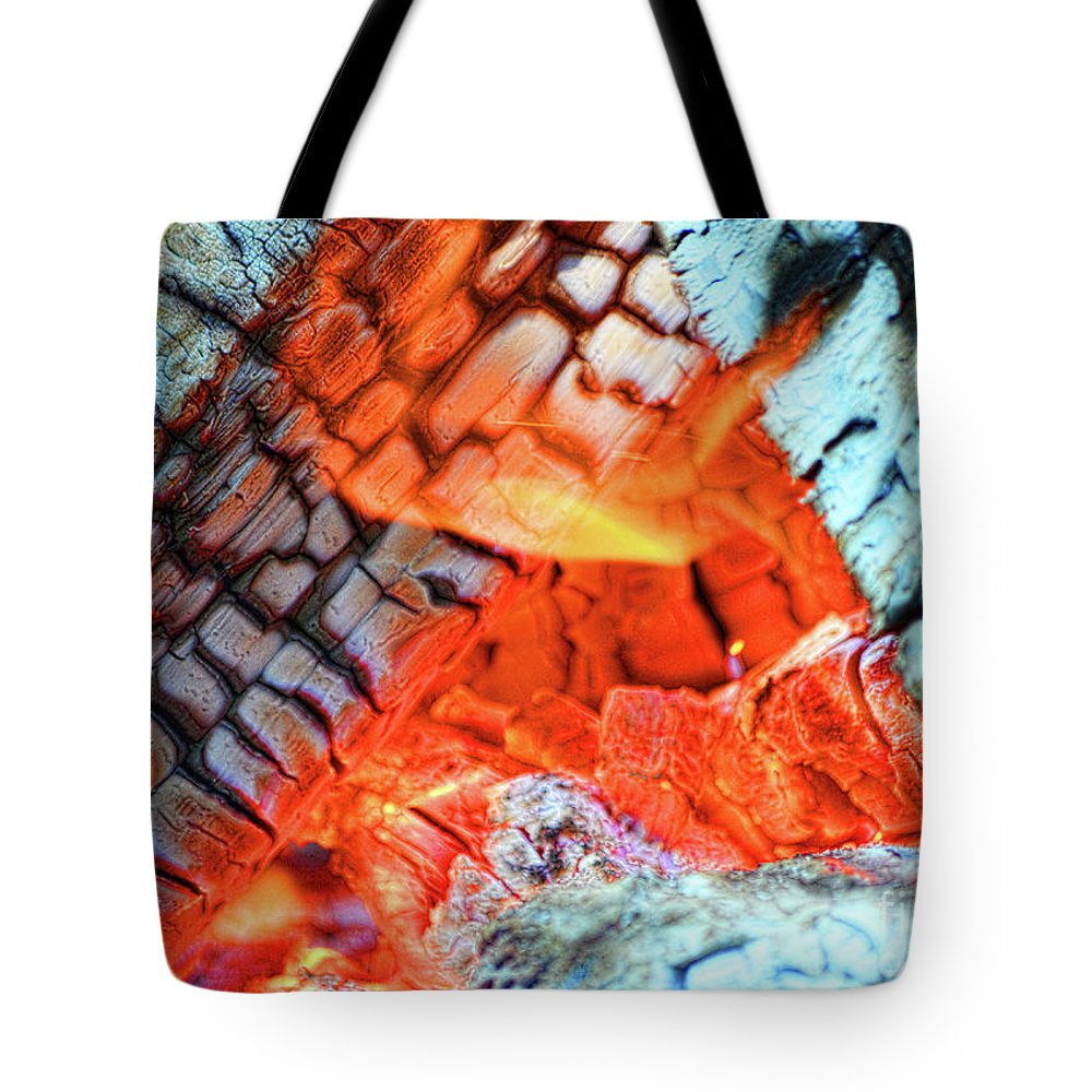 Fire Tote Bag featuring the photograph Summer Nights by Traci Cottingham