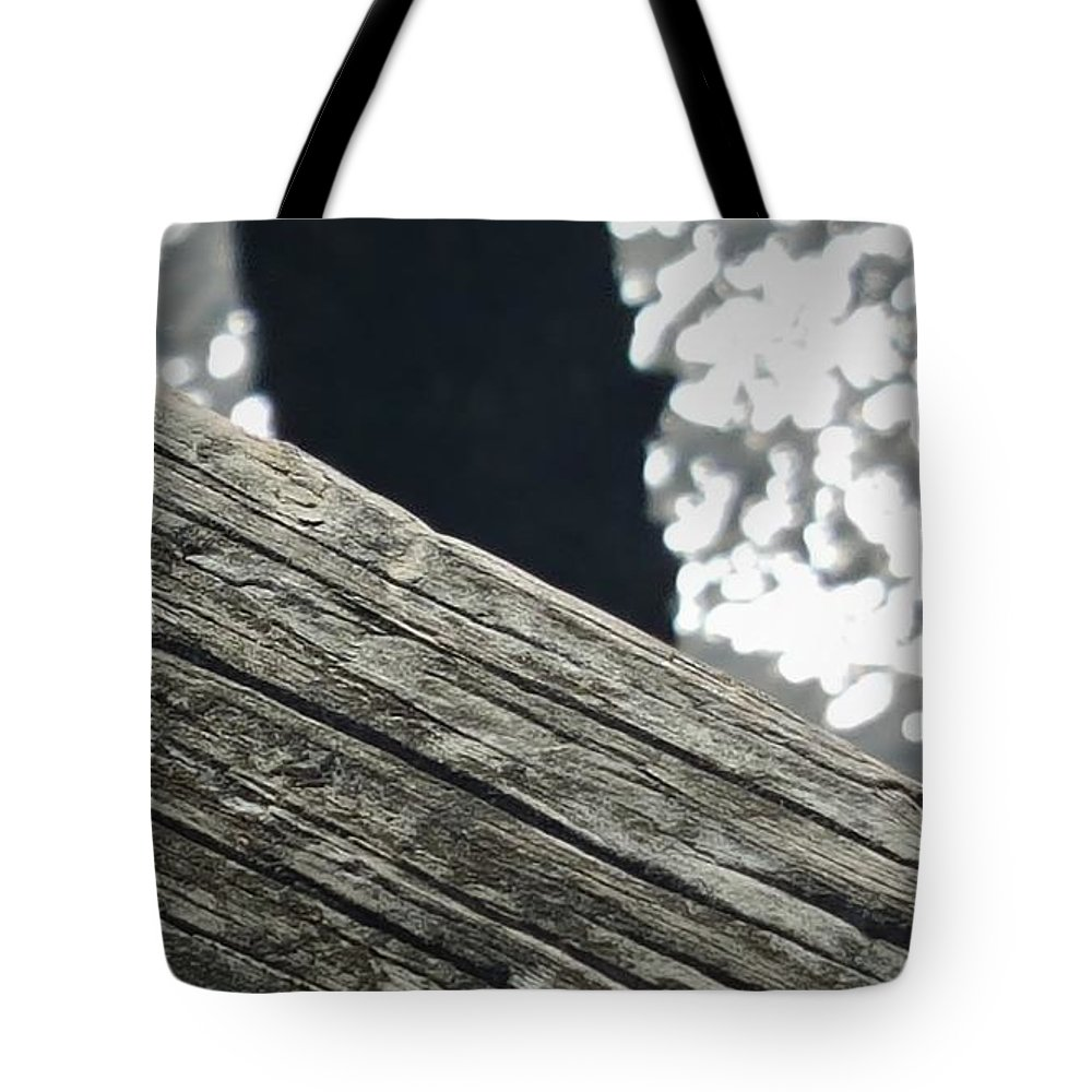 Ocean Tote Bag featuring the photograph Summer On The Dock by McCall Chase