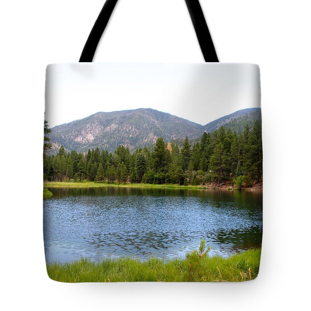 Lake Tote Bag featuring the photograph Summer On The Lake by Cordelia Ford