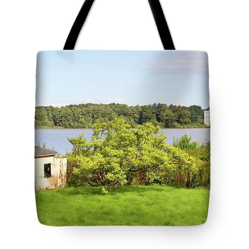 Grasten Tote Bag featuring the photograph Summer Palace 1 by Bernard Barcos