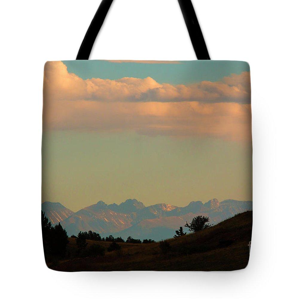 Sangre De Cristo Tote Bag featuring the photograph Summer Sangre De Cristo Sunrise by Steve Krull