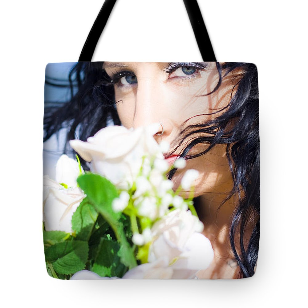 Caucasian Tote Bag featuring the photograph Summer Scent by Jorgo Photography - Wall Art Gallery